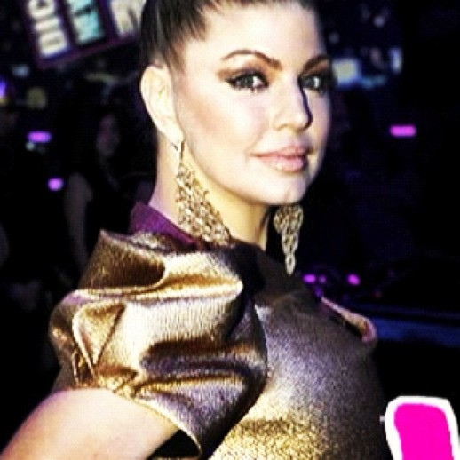 Fergie on Rubin Singer at Dick Clark's Rockin' New Year's Eve '13!.
