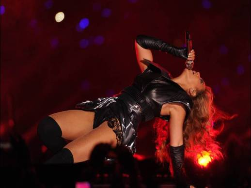 BEYONCE POWERED OUT SUPER BOWL