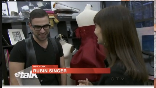 JEANNE BEKER VIDEO INTERVIEW WITH RUBIN SINGER FOR ETALK CTV CANADA