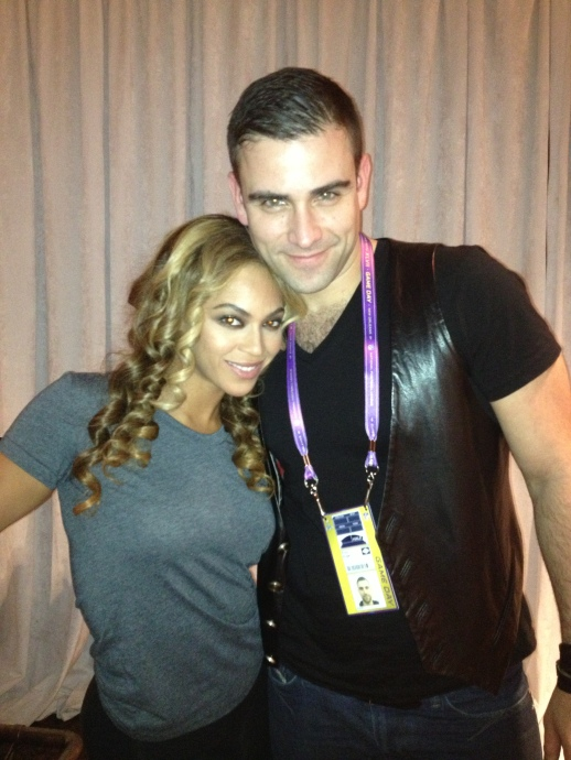 Beyonce and Rubin Singer
