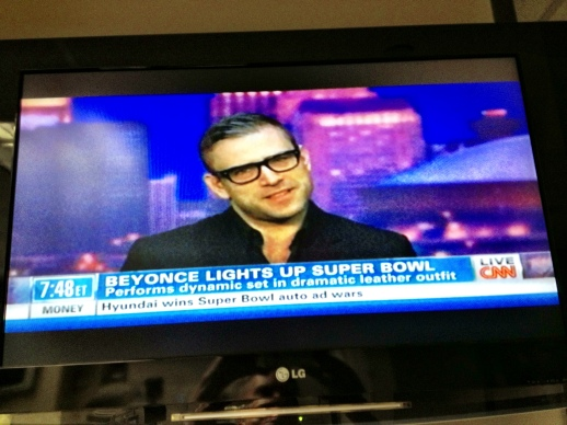 RUBIN SINGER LIVE ON CNN INTERNATIONAL