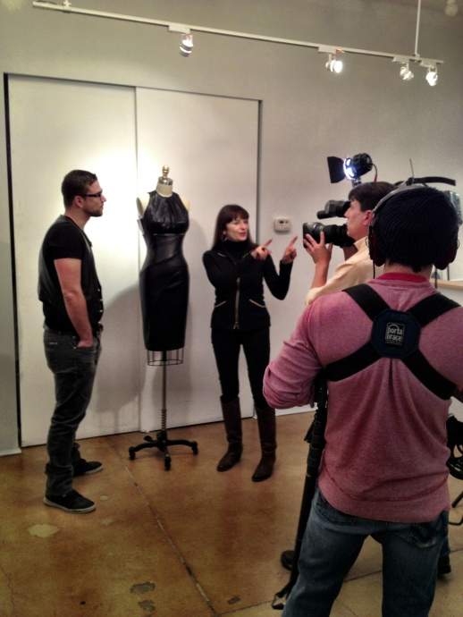JEANNE BEKER INTERVIEWS RUBIN SINGER FOR ETALK CANADA