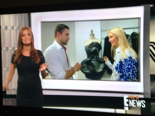 E! NEWS FEATURED RUBIN SINGER TONIGHT AND ALL WEEKEND LONG