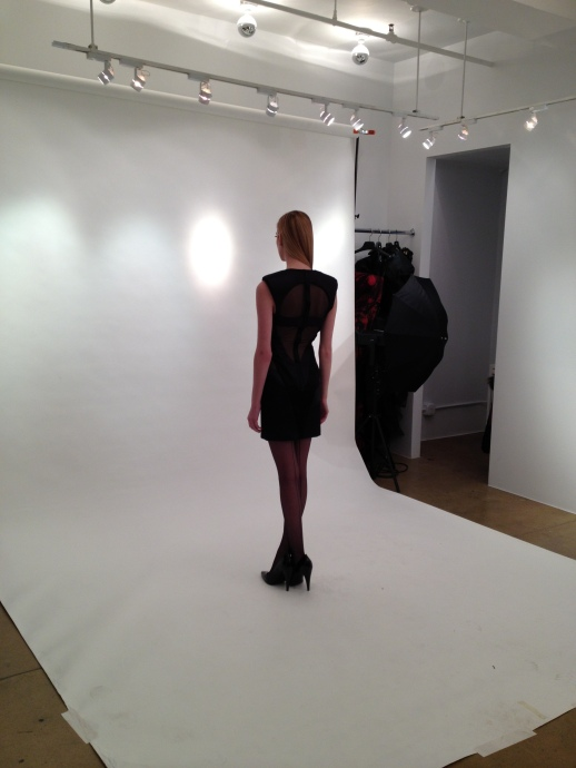 BACKSTAGE PHOTO SHOOT FALL / WINTER 2013 COLLECTION VALKYRIE'S DOMINION