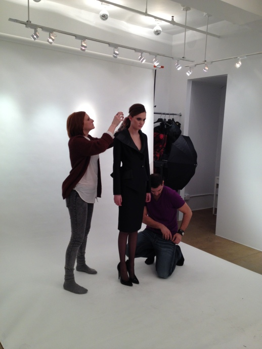 BACKSTAGE PHOTO SHOOT FALL / WINTER 2013 COLLECTION VALKIRE'S DOMINION