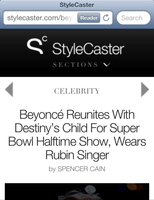 StyleCaster.com features Rubin Singer