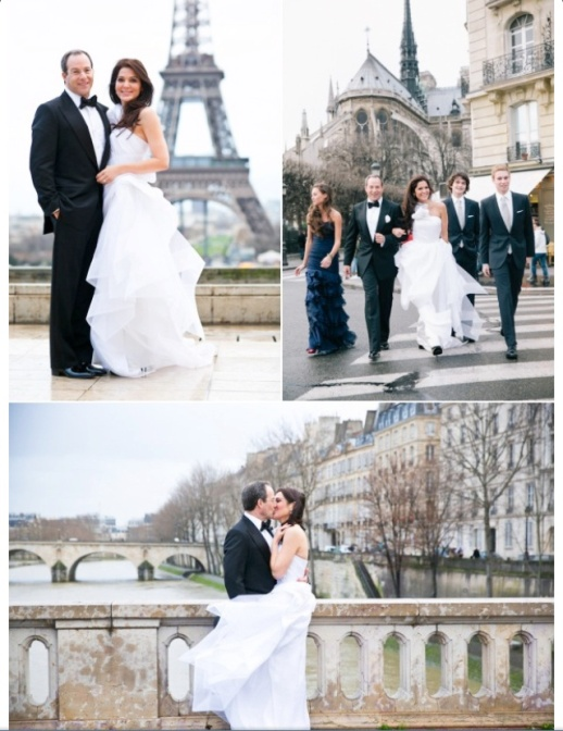 FABULOUS WINTER WEDDING IN PARIS BY RUBIN SINGER's BRIDAL COUTURE