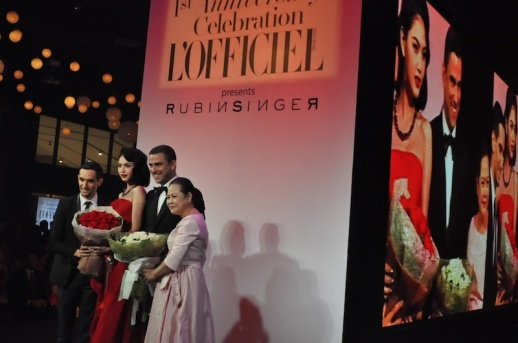 THAI ACTRESS MAI DAVIKA WEARING RUBIN SINGER AT L'OFFICIEL THAILAND 1ST YEAR ANNIVERSARY FASHION EVENT