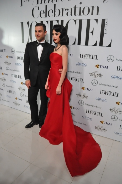 MAI DAVIKA WEARING RUBIN SINGER AT L'OFFICIEL THAILAND 1ST YEAR ANNIVERSARY FASHION EVENT