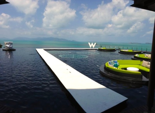 THE RUNWAY AT W RETREAT KOH SAMUI IS ALMOST READY TO HOST RUBIN SINGER's VIP FASHION WEEKEND THAILAND