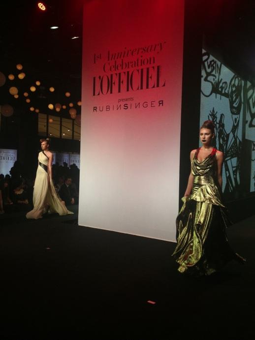 Rubin Singer A/W 2013 Fashion Show Bangkok, Thailand for L'Officiel Magazine