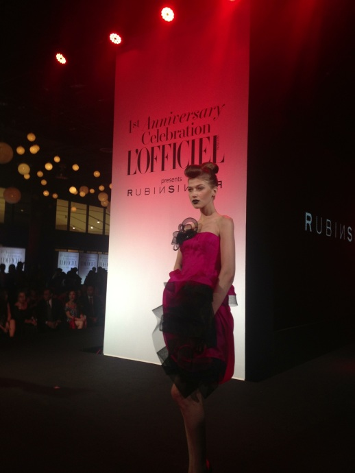 Rubin Singer A/W 2013 Fashion Show Bangkok, Thailand for L'Officiel Magazine