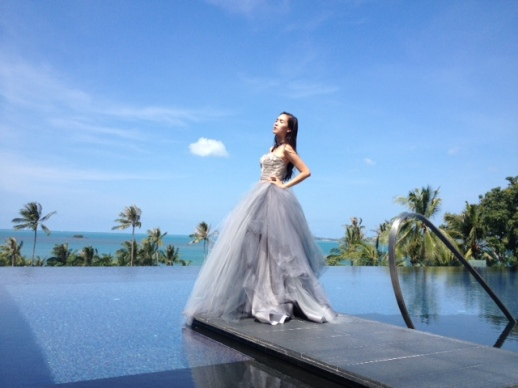 BACKSTAGE RUBIN SINGER PHOTO SHOOT AT W RETREAT KOH SAMUI FOR L'OFFICIEL MAGAZINE