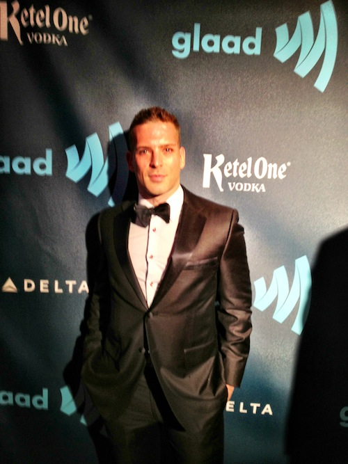 RUBIN SINGER LIVE AT THE 24TH ANNUAL GLAAD MEDIA AWARDS IN NEW YORK CITY
