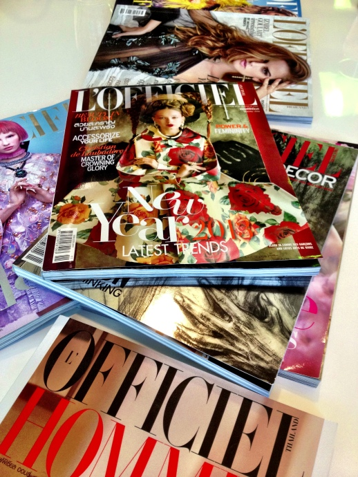 L'OFFICIEL THAILAND INTERVIEWS RUBIN SINGER FOR THEIR NEXT UPCOMING ISSUE