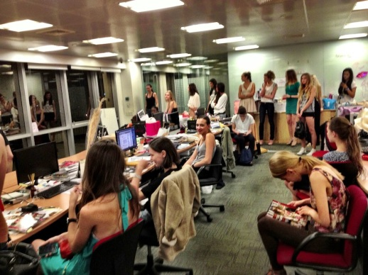 NIGHT CASTING AND FITTINGS FOR RUBIN SINGER's FASHION SHOW IN BANGKOK WITH L'OFFICIEL MAGAZINE