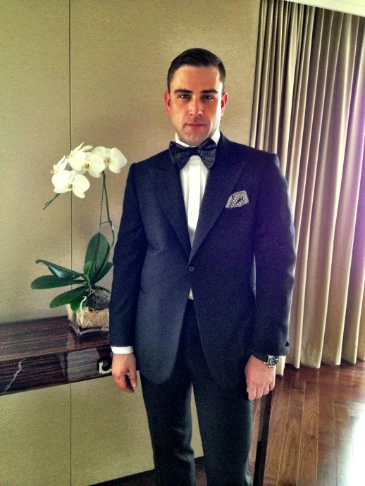 RUBIN SINGER IS READY FOR HIS BANGKOK FASHION SHOW IN THAILAND