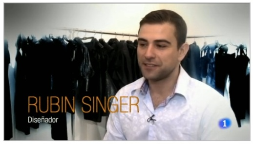 SOLO MODA SPAIN FEATURES RUBIN SINGER