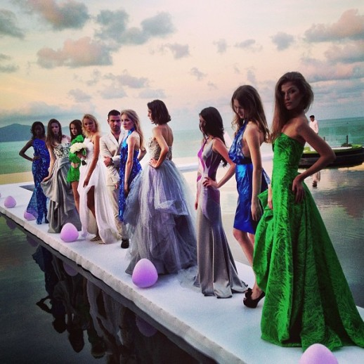 Rubin Singer's VIP Fashion Show at W Retreat Koh Samui for L'Officiel Magazine