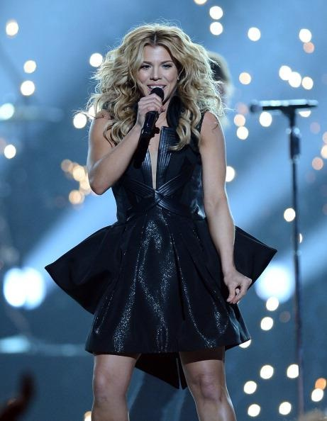 RUBIN SINGER DESIGNS COSTUMES FOR THE BAND PERRY'S PERFORMANCE AT THE 48TH ANNUAL ACADEMY OF COUNTRY MUSIC AWARDS
