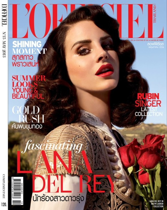 L'OFFICIEL MAGAZINE THAILAND FEATURES RUBIN SINGER ON THE COVER OF THEIR MAY 2013 ISSUE
