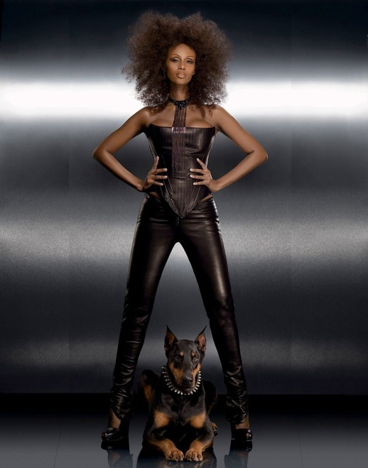 PHOTOS FROM THE VAULT IMAN MODELING RUBIN SINGER DESIGNS