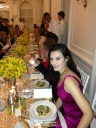 Alessandra Emanuel seen at Di Mondo's 30th Birthday Celebration wearing Rubin Singer