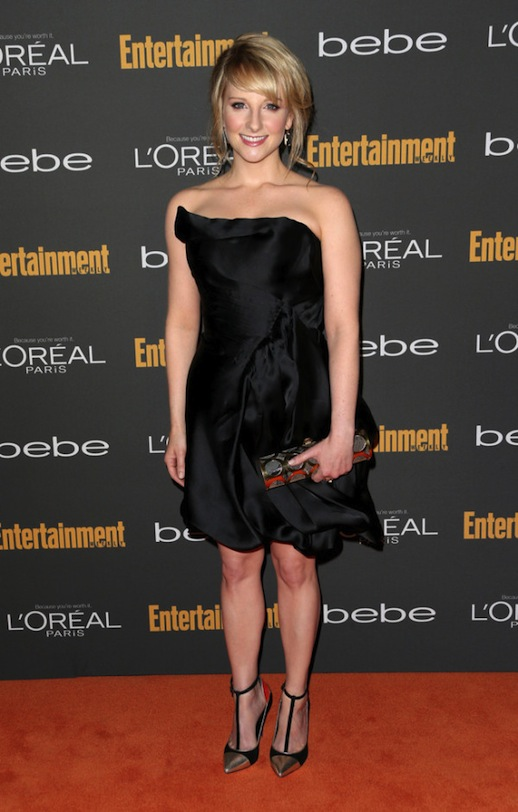 Melissa Rauch at Entertainment Weekly's Pre-Emmy Party.