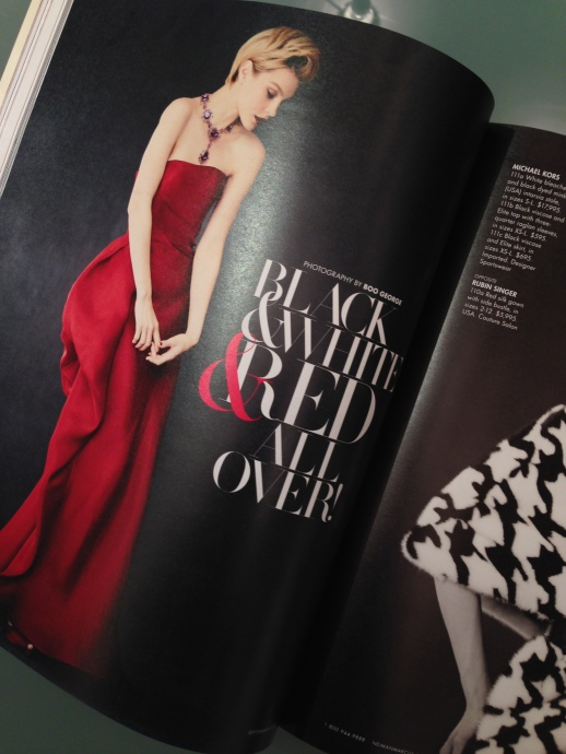 The Book by Neiman Marcus featuring Rubin Singer