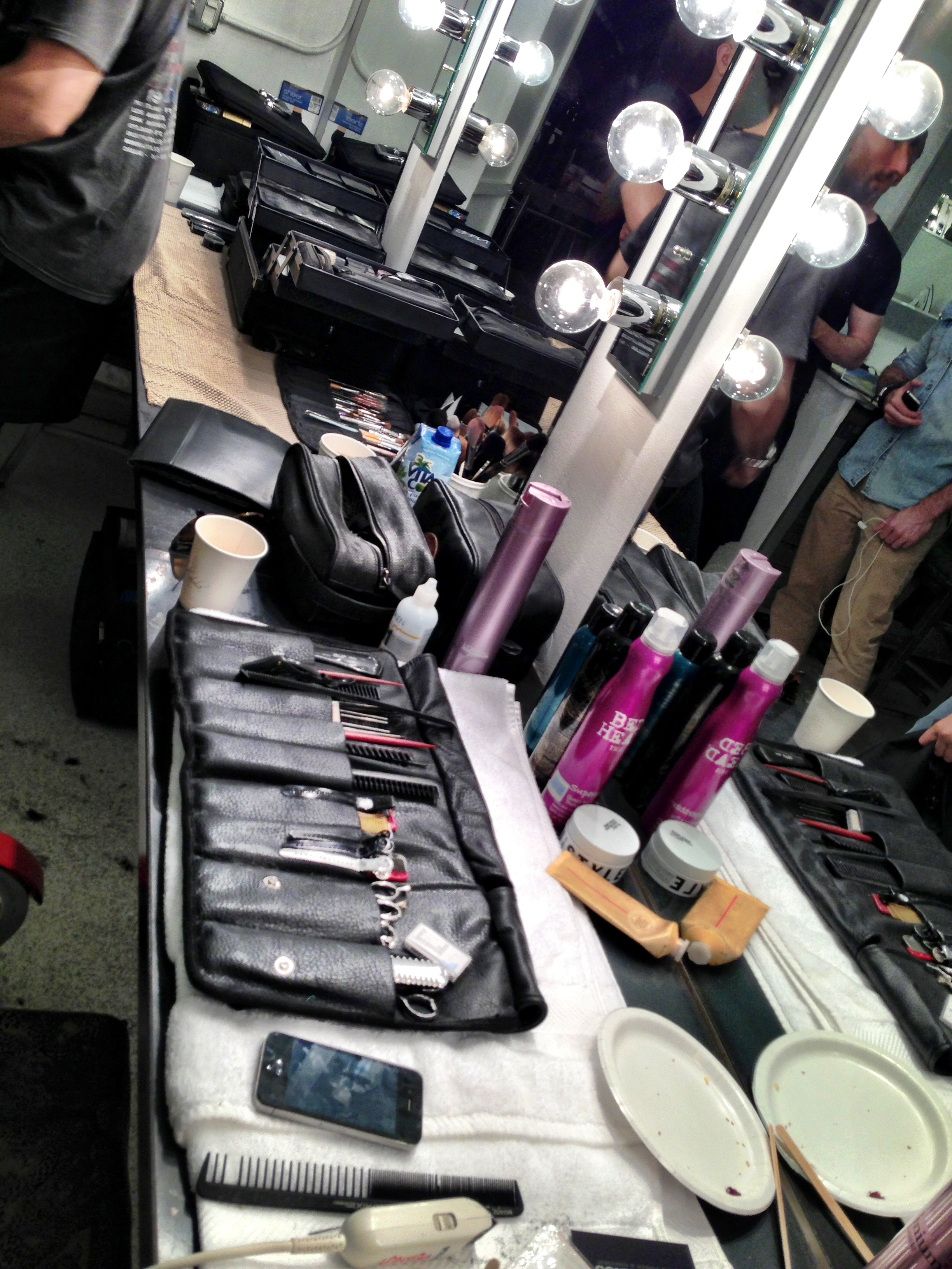 """THE SERPENT QUEEN"" S/S 2014 BY RUBIN SINGER PHOTO-SHOOT DAY 01 BACKSTAGE"