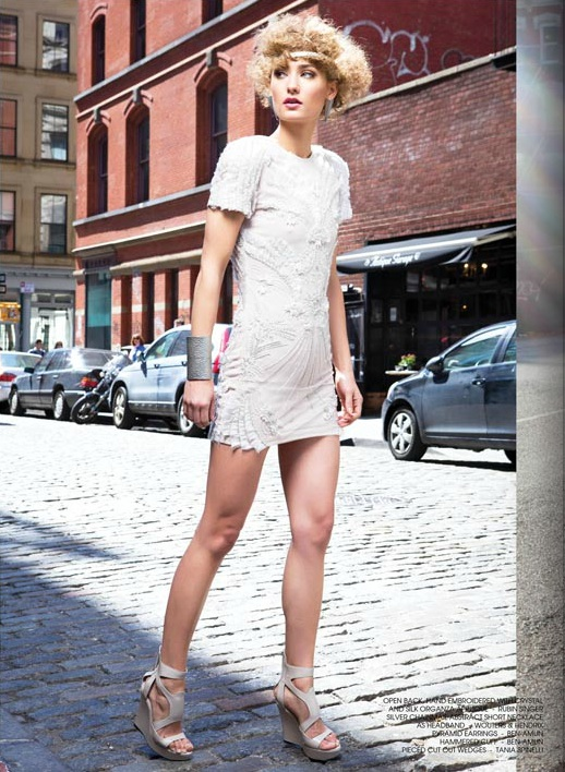 SUMMER IN SOHO BY TINSEL TOKYO MAGAZINE FEATURING RUBIN SINGER