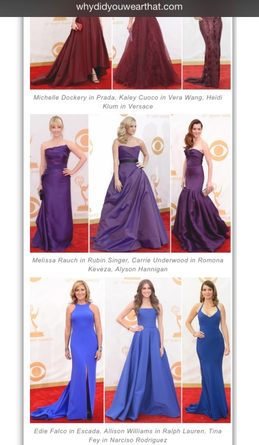 Why did you wear That barfitoarea.ro Press Clipping Melissa Rauch wearing Rubin Singer at 65th EMMY Awards Red Carpet