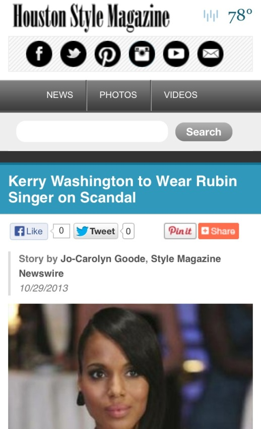 RUBIN SINGER SCANDAL COUTURE  by Houston Style Magazine