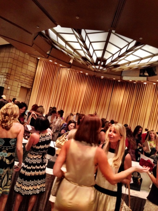 "Rubin Singer S/S 2014 Collection Fashion Show in benefit of ""Old Bags Luncheon"""