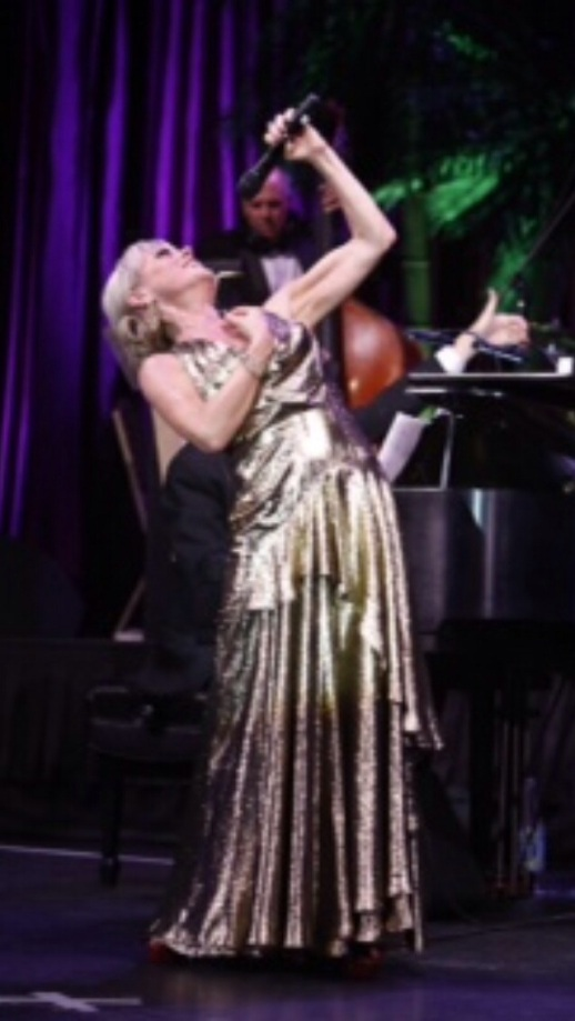 Tracie Bennett wearing Rubin Singer Couture F/W 2013