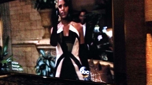 Rubin Singer Scandal Couture for Kerry Washington aka. Olivia Pope