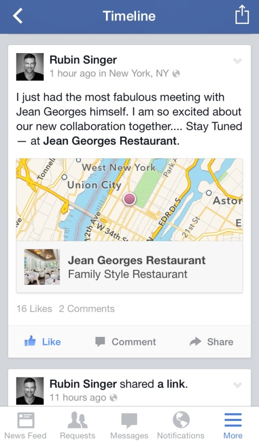 Jean Georges and Rubin Singer team up for Fashion