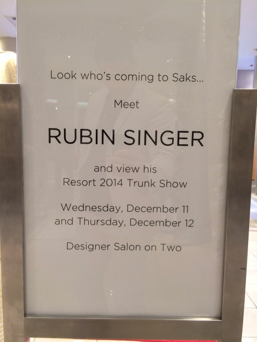 Look who is coming to SAKS Fifth Avenue Palm Beach