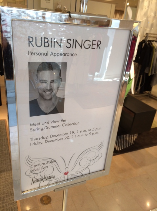 Rubin Singer Fashion Show & Luncheon at Neiman Marcus Palm Beach