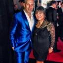 Carlos Melia wearing Rubin Singer Tuxedos in Cannes France