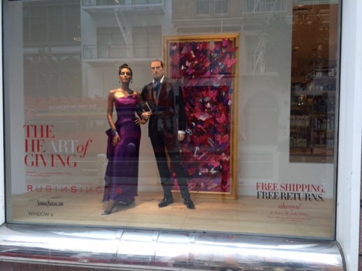 RUBIN SINGER WINDOWS AT NEIMAN MARCUS SAN FRANCISCO