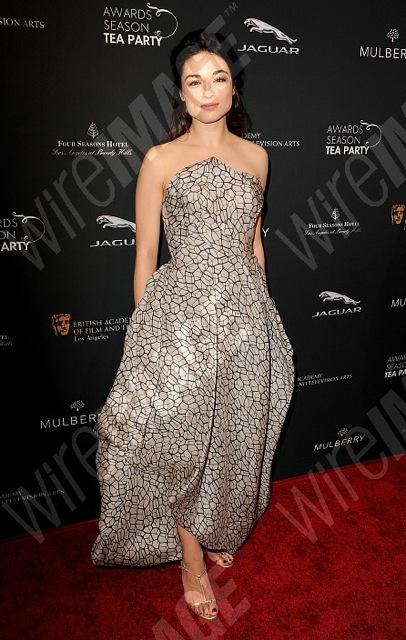 Crystal Reed in Rubin Singer at the BAFTA Award Show Season Tea Party 2