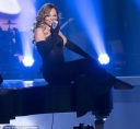 Mariah Carey performs LIVE at the BET Awards 2014 wearing Rubin Singer custom designed couture gown