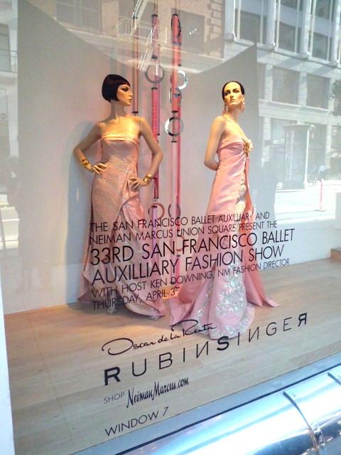RUBINSINGER Spring 2014 at Neiman Marcus San Francisco