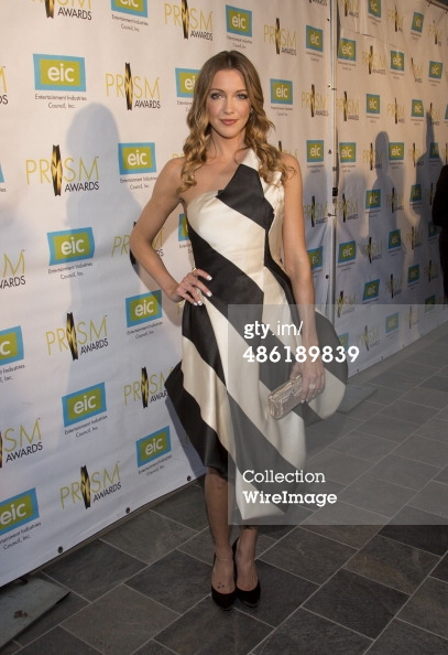 Katie Cassidy wears Rubin Singer to the PRISM Awards