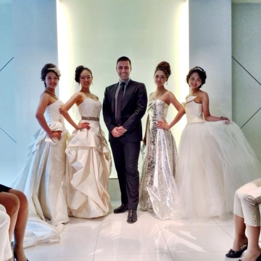 RUBINSINGER BRIDAL AND AUTUMN/WINTER 2014 FASHION SHOW IN YOKOHAMA JAPAN