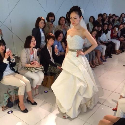 RUBINSINGER BRIDAL AND AUTUMN/WINTER 2014 FASHION SHOW IN YOKOHAMA JAPAN