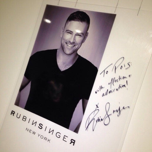 RUBINSINGER Fashion Week and Personal Appearances Singapore