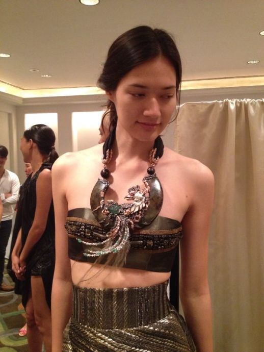 Backstage RUBINSINGER Fashion Show & Charity Event at Four Seasons Bangkok