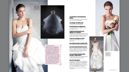The Perfect Bride by RUBINSINGER for L'Officiel Thailand